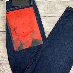 Rare Calvin Klein\Andy Warhol high waisted jeans